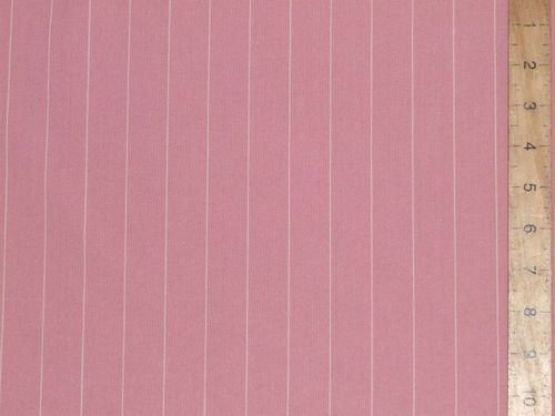 "CLEARANCE: Stripe Gaberdine Fabric 58"" wide - SAVE 50%"