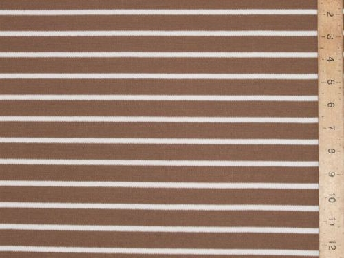 "CLEARANCE: Stripe Micro-knit Jersey 78"" wide - SAVE OVER 50%"