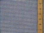 Polycotton Check Gingham - 3mm (Dark Blue)