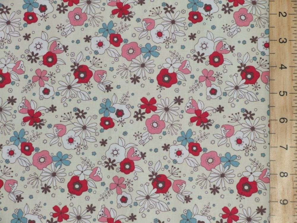 FLORAL PURE COTTON