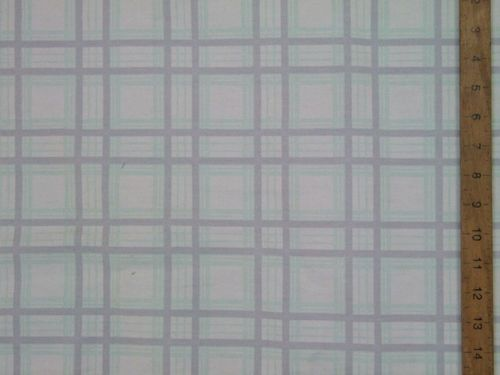 "CLEARANCE: Checked Cotton Fabric 60"" wide - SAVE 50%"