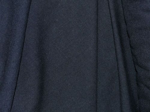 "CLEARANCE: Wool-mix suiting 58"" wide (Dark Navy) - SAVE 50%"