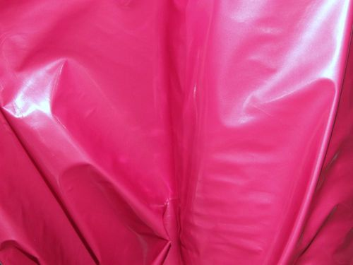 "CLEARANCE: Cerise PVC 60"" wide - SAVE 50%"