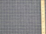"CLEARANCE: Checked Heavy Stretch Twill Fabric 60"" wide - SAVE 70%"