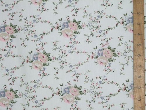 Floral Printed Polycotton Fabric