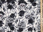 Skull & Roses Ultimate Print Pure Cotton (Ivory)