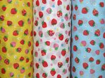 Polycotton Print - New Strawberry