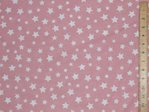 "Extra Wide Star Print Polycotton 90"" wide (sheeting)"