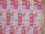 Printed Pure Cotton Fabric - Peppa Pig