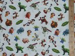 Printed Pure Cotton Fabric - Toy Story