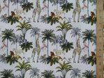 Printed Pure Cotton Fabric - Jungle Book