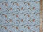 Printed Pure Cotton Fabric - Harry Potter