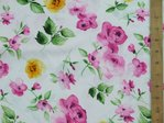 "Floral Printed Viscose Fabric 58"" wide"